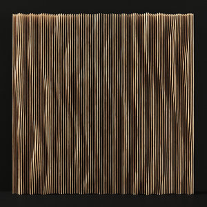 3D parametric wood panel