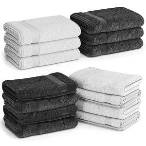 stacks towels 3D model