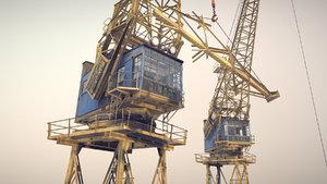 crane stothert pitt livery 3D