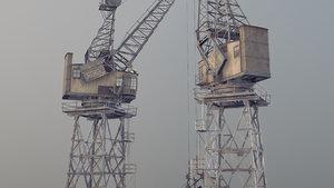 crane stothert pitt livery 3D model