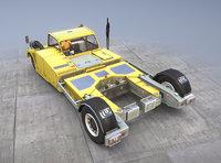 3D towbarless aircraft tractors tpx-200-s model