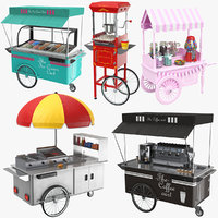 Full Food Carts Collection