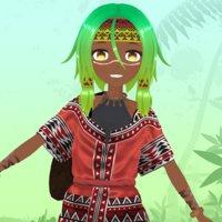 avatar girl ethnic 3D model