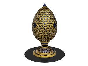 3D faberge egg model