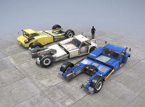 towbarless aircraft tractors tpx-200-s 3D