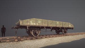 armored train jdp20t railway 3D