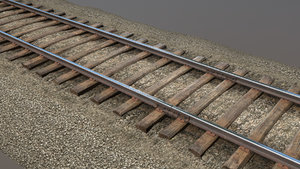old railway section 12 3D