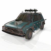 3D vehicle