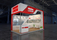 exhibition stand 6x3m 3D