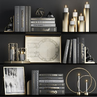 3D decorative black