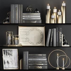 3D decorative black