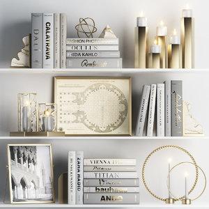 decorative white model