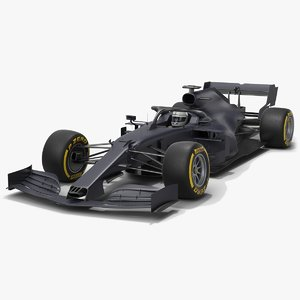 grey cat gc16 formula 1 3D model