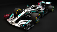 F1 Mercedes W11 EQ Performance 2020