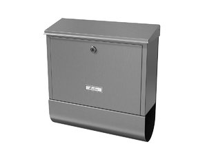 3D mailbox mail model