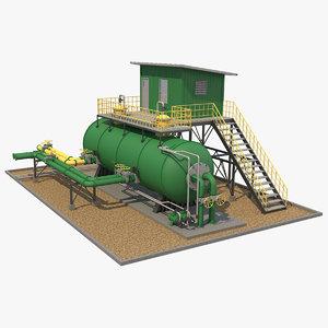 industrial element 4 3D model
