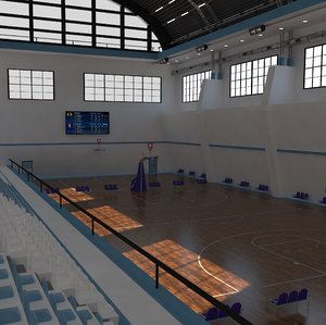3D arena basket ball