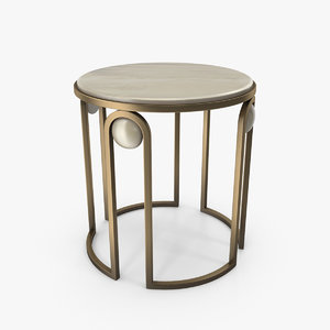 metal table model