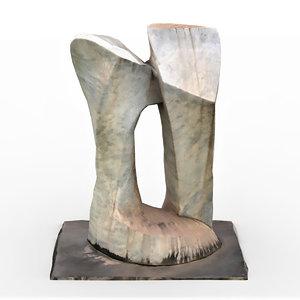 abstract sculpture 3D model