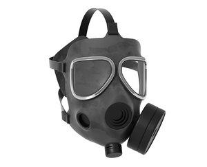 3D gasmask mask