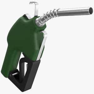 real fuel nozzle 3D model