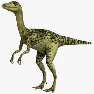 3D dinosaur beast dino model