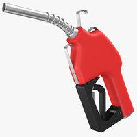 Red Fuel Nozzle