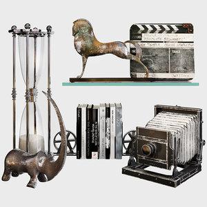 3D decorative set 65 model