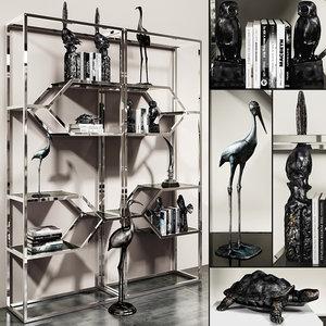 eichholtz accessories set 3D