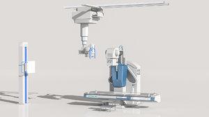 3D model simens x machine