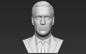 3D don draper mad men model