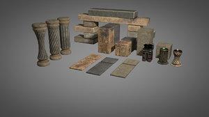 3D parts ancient
