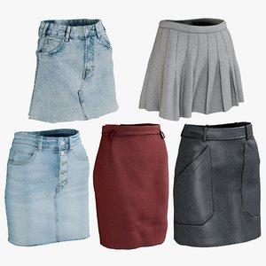 realistic skirt 1 model