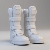Cartoon Cyber Boots