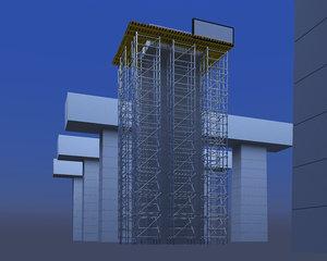 scaffold construct 3D