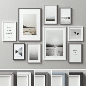 picture frames 3D