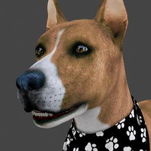FDOG-015 Dog Idle