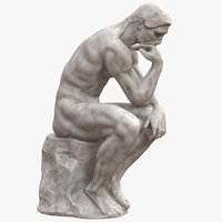 The Thinker Marble
