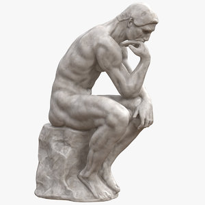 statue sculpture 3D model