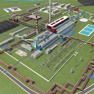 coal plant model