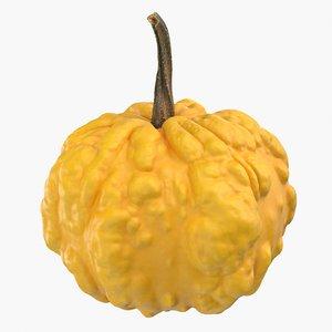 decorative pumpkin 3D