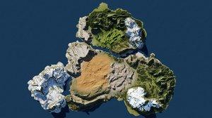 biomes blender 3D model