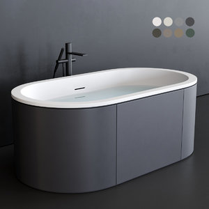 arcadia bathtub 3D model