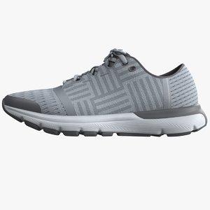 3D realistic sneakers 03 model
