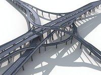 Highway Road Viaduct Flyover-09