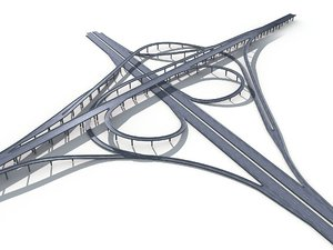 viaduct highway model