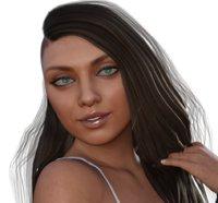Mila Kunis 3d model full rigged