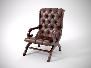 leather chair 3D model