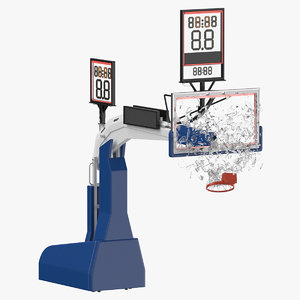 basketball board breaking pose 3D