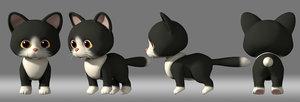 cat cartoon 3D